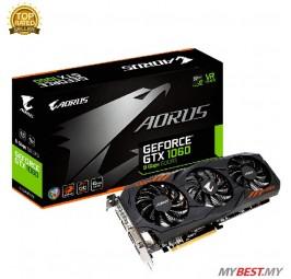 GIGABYTE GTX1060 AORUS 6GB GDDR5 192BIT (GV-N1060AORUS-6GD)