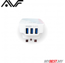 AVF AUTA11 3 USB Power Adapter