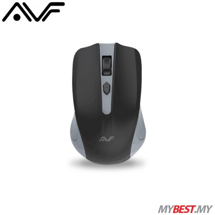 AVF GEOM3 AM-5G 2.4G Wireless Mouse (Grey)