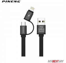 PINENG PN-304 Charging & Data Cable 2 In 1 High Speed