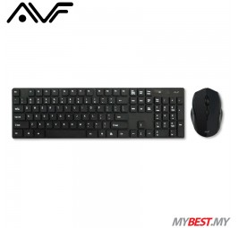 AVF AKM8000G Wireless Optical Mouse and Keyboard Combo