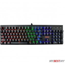 1ST PLAYER FIRE ROSE MK3 MECHANICAL GAMING KEYBOARD BLACK