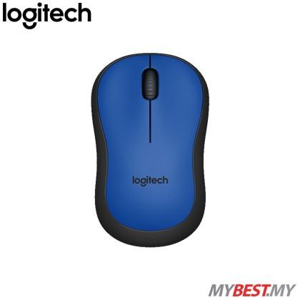 Logitech M221 Silent Wireless Mouse (Blue)