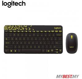 Logitech MK240 NANO Wireless Keyboard and Mouse Combo (Black)