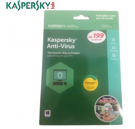 Kaspersky Anti-Virus 2018 5D1Y