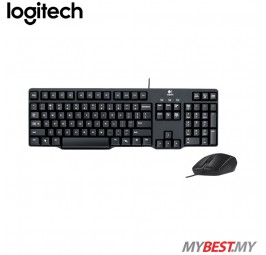 Logitech Classic Desktop MK100 Wired Keyboard & Mouse Combo