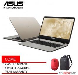 Asus Vivobook A407M-ABV101T 14 inch Laptop/ Notebook (N5000, 4GB, 256GB, Intel, W10H)