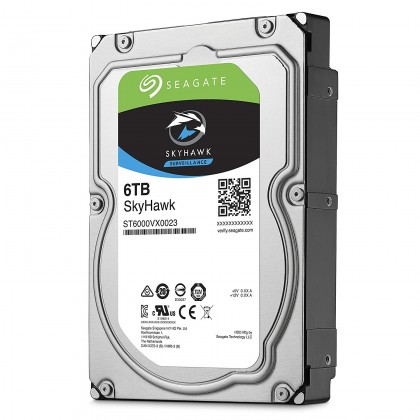 "SEAGATE 3.5"" SKYHAWK 6TB INTERNAL HARD DRIVE"