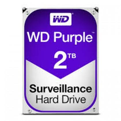 """WD SURVEILLANCE PURPLE 3.5"""" 2TB INTERNAL HARD DRIVE"""