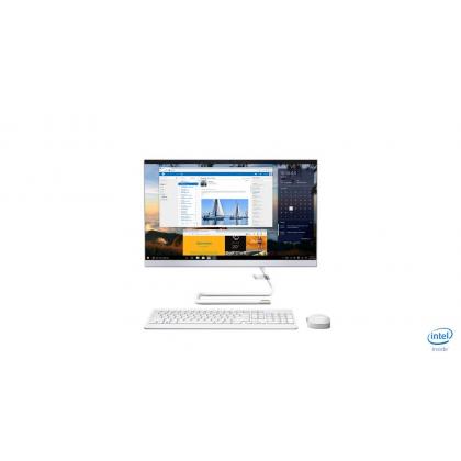 Lenovo A340-24ICK F0ER0022MI 23.8 FHD Touch AIO Desktop PC White ( i3-9100T, 4GB, 1TB, R530 2GB, W10 )