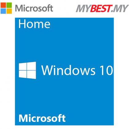MICROSOFT WINDOW 10 HOME (OEM) 64 BIT