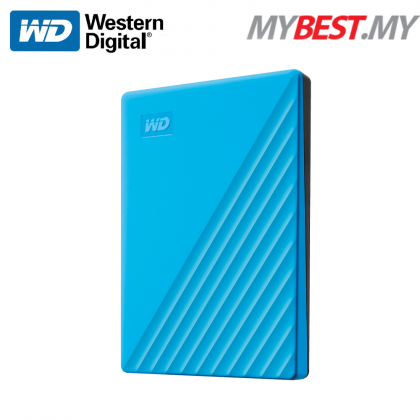 "WESTERN DIGITAL MY PASSPORT 2.5"" 1TB USB3.0-BLUE (NEW)"