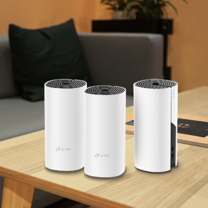 TP-LINK AC1200 WHOLE-HOME MESH WI-FI SYSTEM DECO M4 - 3 PACK