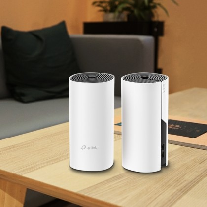 TP-LINK AC1200 WHOLE-HOME MESH WI-FI SYSTEM DECO M4 - 2 PACK