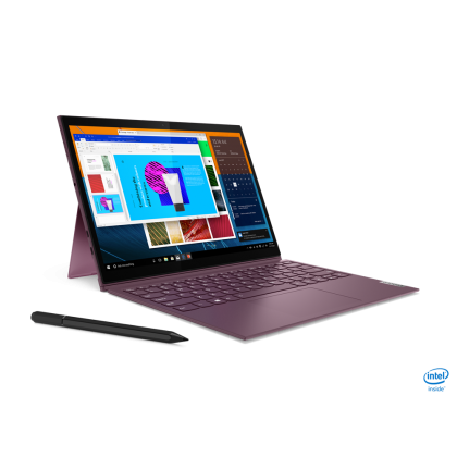 LENOVO YOGA DUET7 13IML05 82AS007KMJ (ORCHID) LAPTOP (INTEL CORE I5-10210U/ 8GB DDR4 / 256GB SSD / INTEL UHD 13.3'' WQHD TOUCH PEN / 1 YEAR PREMIUM WARRANTY)