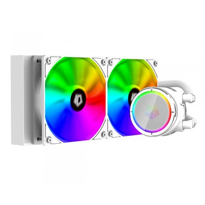 ID-COOLING ZOOMFLOW 240X SNOW - ARGB AIO CPU COOLER