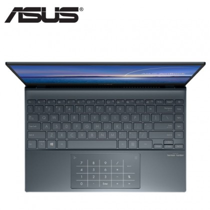 Asus ZenBook 13 UX325E-AEG070TS 13.3'' FHD Laptop Pine Grey ( I7-1165G7, 8GB, 512GB SSD, Intel, W10, HS )