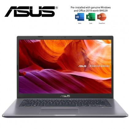Asus A416J-ABV050TS 14'' Laptop Slate Grey ( I3-1005G1, 4GB + 4GB, 256GB SSD, Intel, W10, HS )