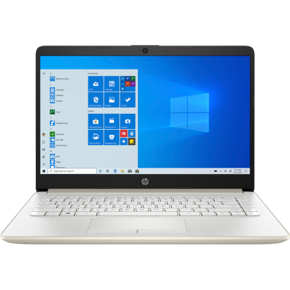 HP 14S-FQ0075AU (GOLD) (AMD RYZEN 3-4300U /4GB RAM /512GB SSD /14 HD LED /AMD RADEON GRAPHIC /WIN 10 /MS OFFICE /2 YEARS