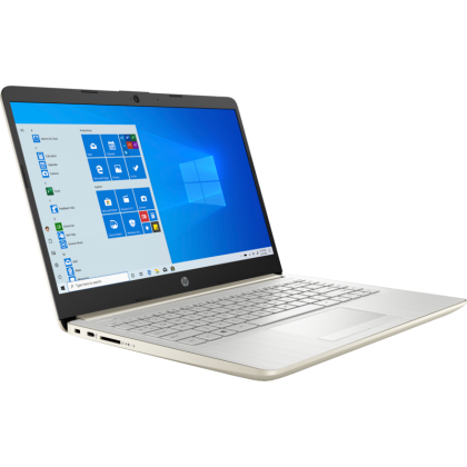 "HP 14S-CF2043TX (GOLD) LAPTOP (I7-10510U,8GB,512GB SSD,14"" FHD,RADEON 530 2GB,WIN10) FREE BACKPACK + PRE-INSTALLED OFFICE H&S 2019"