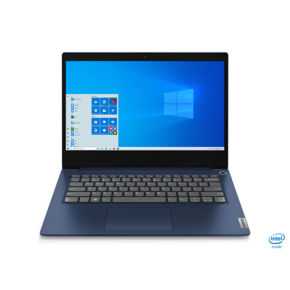 """LENOVO IP3 IDEAPAD 3 14IIL05 81WD00Y0MJ LAPTOP ( I3-1005G1,4GB+4GB,256GB SSD,14"""" FHD,UHD GRAPHICS,WIN10) FREE BACKPACK + PRE-INSTALLED OFFICE H&S 2019"""