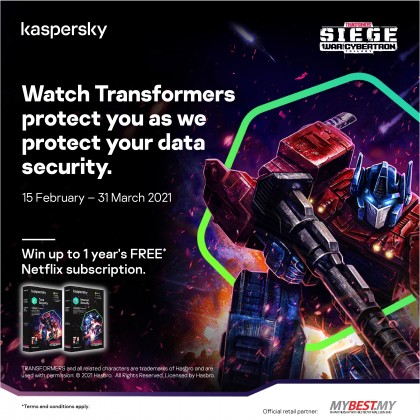 Kaspersky Total Security 2021 3 Devices 1 Year