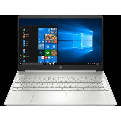 "HP 15S-FQ2514TU SILVER LAPTOP (13-1115G4,8GB,512GB SSD,15.6"" HD,UHD GRAPHICS,WIN10 )FREE BACKPACK"