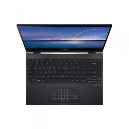 Asus ZenBook Flip S13 UX371E-AHL283TS 13.3'' UHD Touch Laptop Jade Black ( I7-1165G7, 16GB, 1TB SSD, W10) PRE-INSTALLED OFFICE H&S 2019