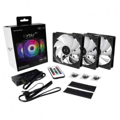 Tecware ORBIS F1  Starter Kit with 3x F1 ARGB Fan