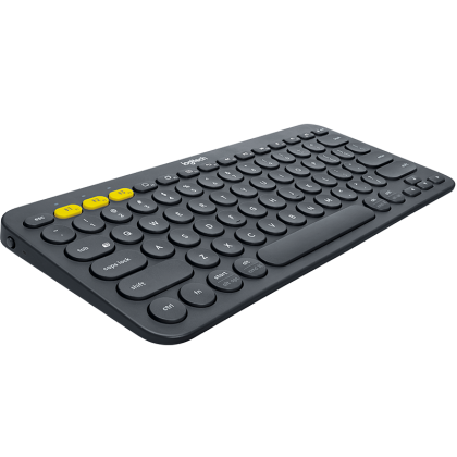 LOGITECH K380 BLUETOOTH MULTI-DEVICE KEYBOARD (BLACK)
