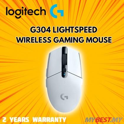 LOGITECH G304 LIGHTSPEED WIRELESS MOUSE (WHITE)