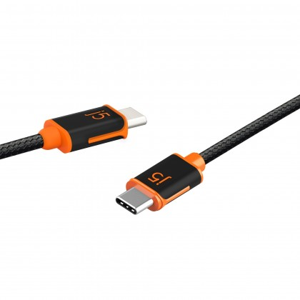 USB-C TO USB-C SYNC & CHARGE CABLE 1.8M (JUCX24)
