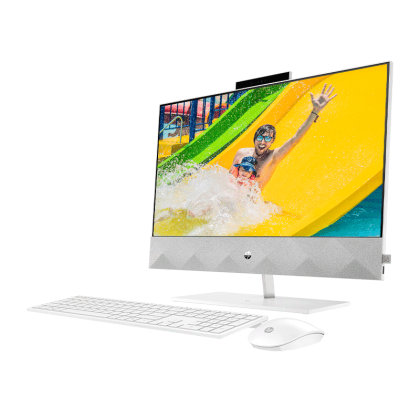 """HP PAVILIOON 24-K1003D AIO TOUCH (INTEL I7-11700T/ MX350 4GB/ 8GB RAM/ 512GB SSD/ 23.8"""" FHD TOUCH-SCREEN/ WIN 10) PRE-INSTALLED MICROSOFT OFFICE HOME & STUDENT 2019"""