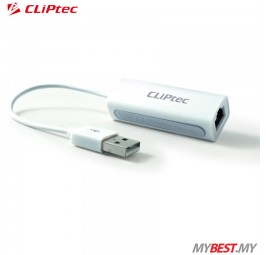 CLiPtec OCB480 USB 2.0 High Speed Ethernet Adapter