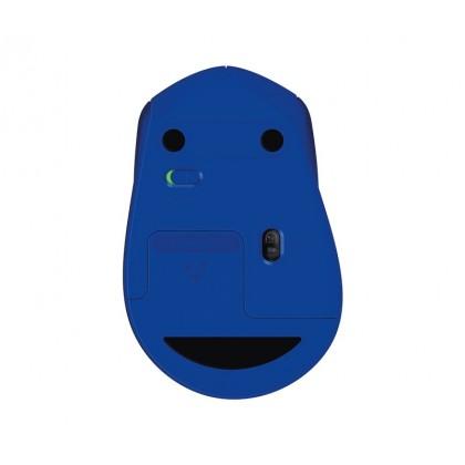 LOGITECH M331 SILENT PLUS WIRELESS MOUSE (Blue)