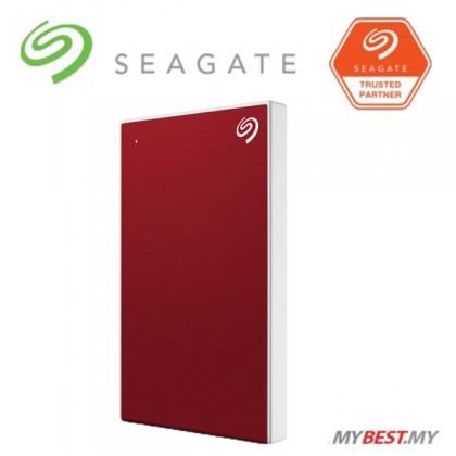 Seagate 1TB Backup Plus Slim External Hard Drive (RED)